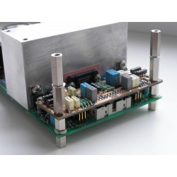 PA03 Power Amplifier based on LM4780. Picture is showing an active filter.