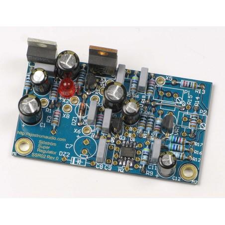 SSR02 Sjöström Super Regulator Built with negative output voltage