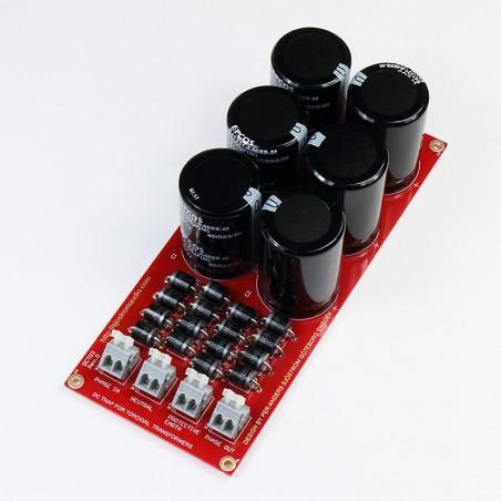 DCT03 DC filter for toroidal transformers, heavy duty, built unit