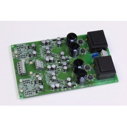 QRV08 Headphone Amplifier SMD current feedback amplifier, now with gold pads