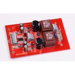 QRV09 Headphone Amplifier with current feedback
