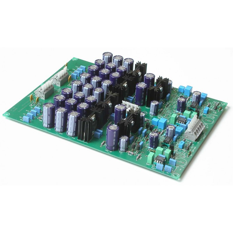QSXM3 RIAA Phono Amplifier for moving coil cartridge. A picture of the bare pcb is not available.